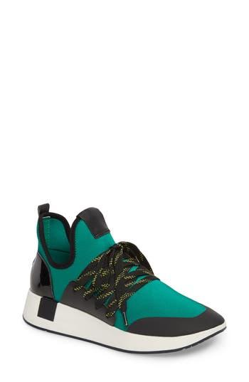 Women's Steve Madden Shady Sneaker, Size 5.5 M - Green