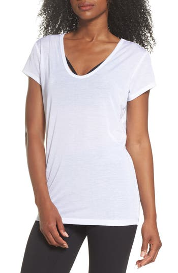 Zella Boot Camp Tee, White