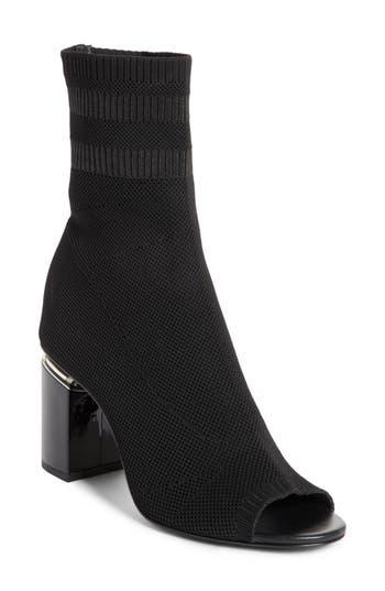 Alexander Wang Cat Knit Sock Boot - Black