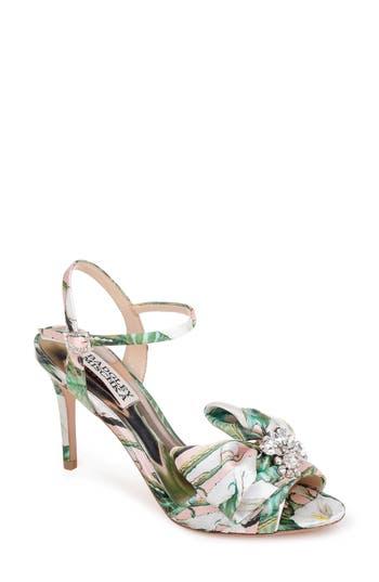 Badgley Mischka Samantha Strappy Sandal- Pink