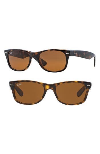 Ray-Ban Small New Wayfarer 52Mm Sunglasses - Light Havana