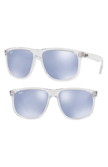 Ray-Ban 60Mm Mirrored Sunglasses -