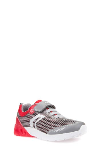 Boys Geox Sveth LightUp Sneaker Size 3.5US  35EU  Grey