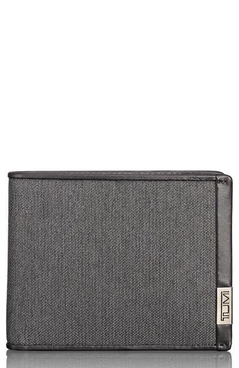 Men's Tumi Alpha Global Wallet - Grey