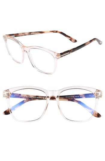 Tom Ford 54mm Blue Block Optical Glasses
