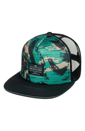 Men's Quiksilver Brissells Trucker Hat - Green