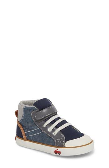 Boys See Kai Run Dane Sneaker Size 12.5 M  Blue