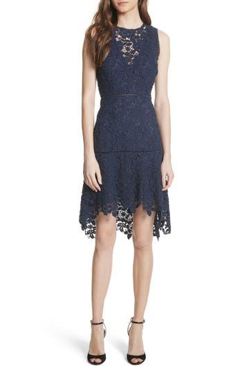 Joie Bridley Lace A-Line Dress, Blue