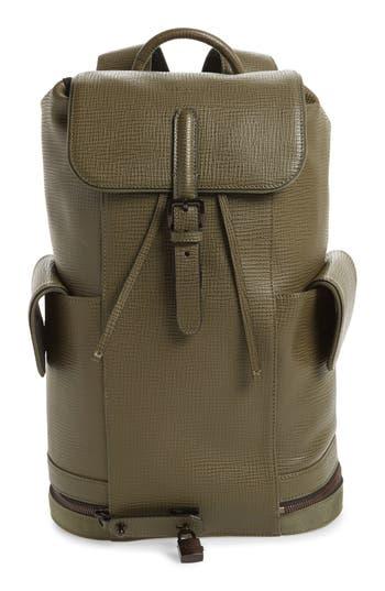 Ted Baker London Thorr Palmelato Backpack - Green