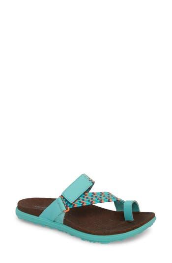 Women's Merrell Around Town Sunvue Sandal, Size 5 M - Blue/green