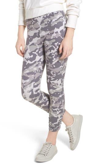 Lysse Scrunched Leggings, Grey