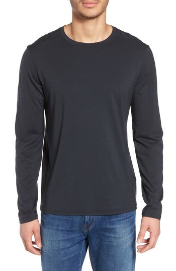 Smartwool Merino 150 Wool Blend Long Sleeve T-Shirt, Black