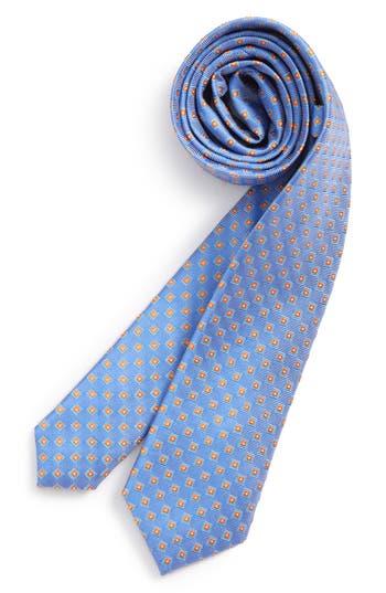 Boys Nordstrom Piazza Geometric Silk Tie Size Big Boy  Blue