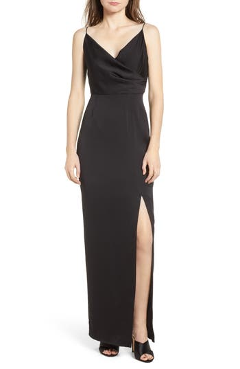 Keepsake The Label This Moment Gown, Black
