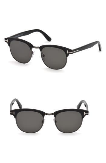 Tom Ford Laurent 51mm Polarized Sunglasses