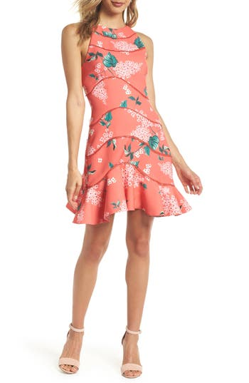 Keepsake The Label Wild Thoughts Halter Dress, Red