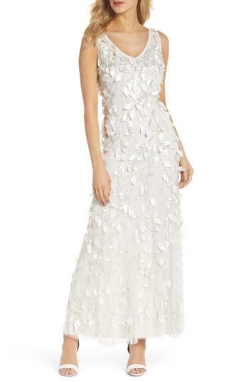 Women's Pisarro Nights 3D Texture Tulle Gown