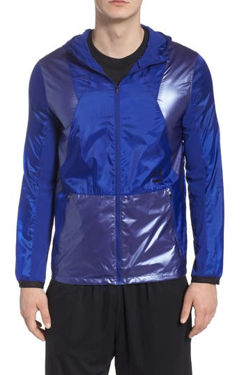 Under Armour Perpetual Windproof & Water Resistant Hooded Jacket
