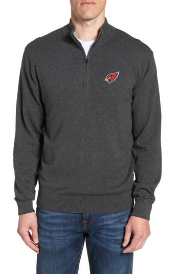 Cutter & Buck Arizona Cardinals - Lakemont Regular Fit Quarter Zip Sweater