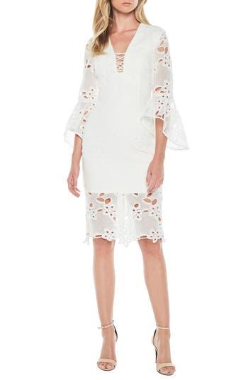 Bardot Indra Lace Sheath Dress