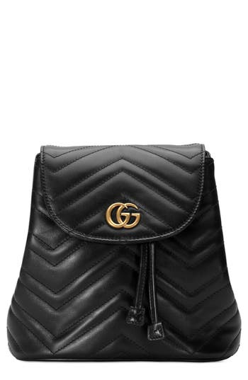 Gucci GG Marmont 2.0 Matelassé Leather Mini Backpack