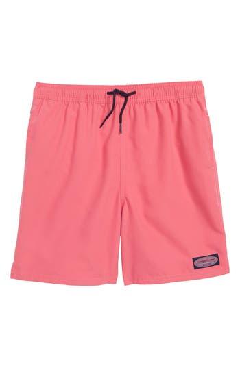 Boys Vineyard Vines Bungalow Board Shorts Size XL  18  Red