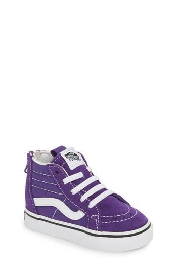 Boys Vans Sk8Hi Sneaker Size 6 M  Purple