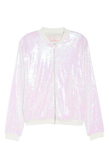 Hayley Paige Sparkle Bomber Jacket