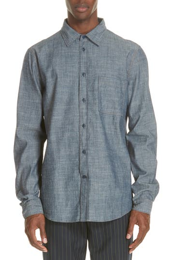 Acne Studios Road Chambray Sport Shirt