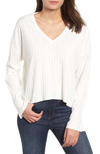 BP. Wide Rib Crop Sweater