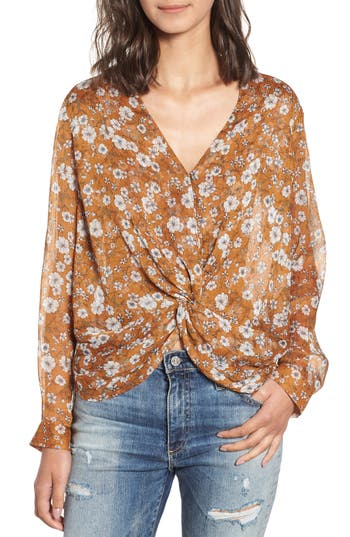 HEARTLOOM CAMILLE TWIST FRONT TOP