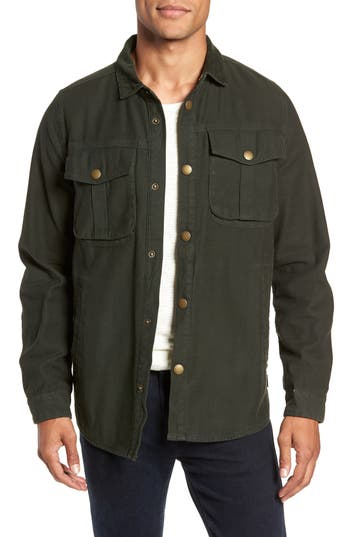 Men's Barbour Deck Jacket, Size Small - Green