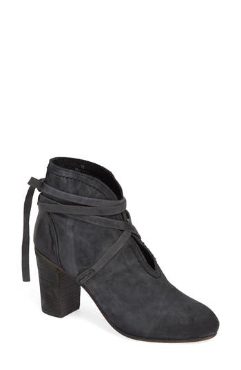ANKLE TIE BOOTIE