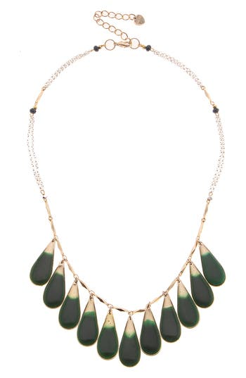 Nakamol Design Teardrop Fringe Necklace