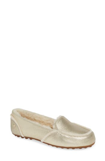 UGG® Hailey Metallic Slipper