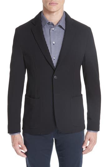 Emporio Armani Slim Fit Stretch Cotton Blend Sport Coat