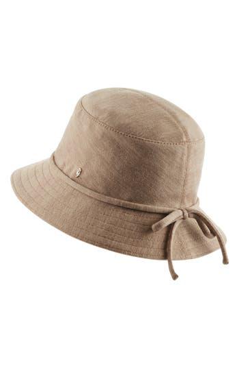 CLASSIC WOOL BUCKET HAT - BROWN