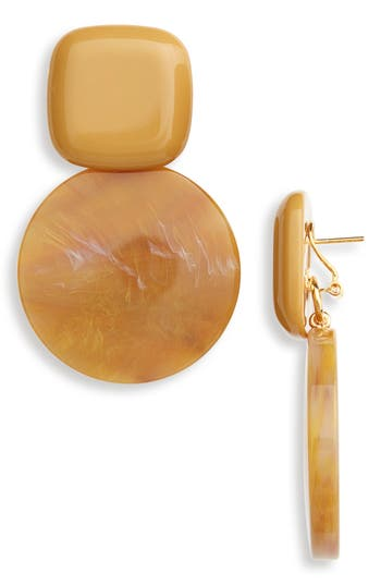 RACHEL COMEY ARC DROP EARRINGS