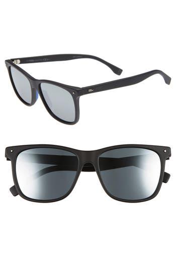 Fendi 55mm Polarized Sunglasses