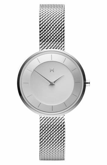 MVMT Mod Mesh Strap Bracelet Watch, 32mm