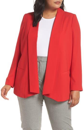 Plus Size Women's Halogen Shawl Collar Blazer