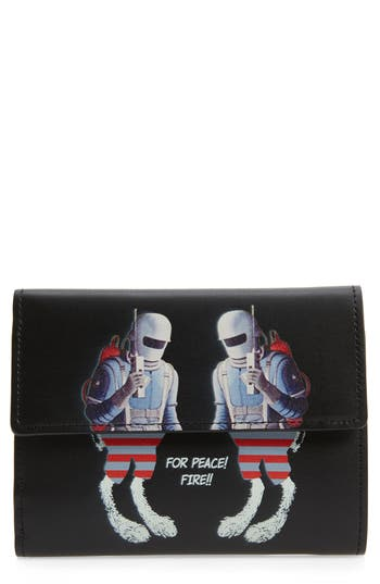 Undercover Spacemen Leather Wallet