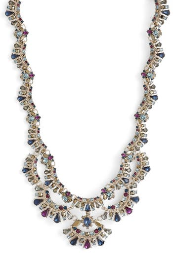 Marchesa Crystal Collar Necklace