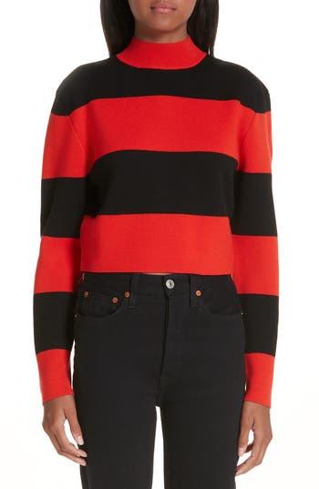 Victor Glemaud Stripe Wool Sweater