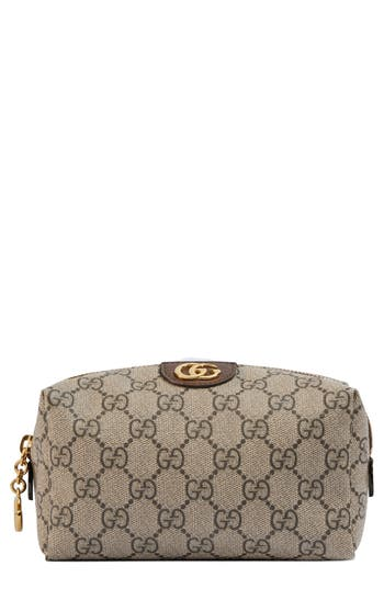 Gucci Small Ophidia Canvas Cosmetics Pouch