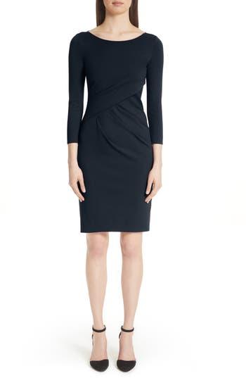 Emporio Armani Asymmetrical Waist Sheath Dress
