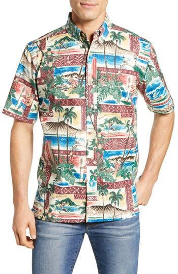 Reyn Spooner Hawaiian Christmas 2018 Classic Fit Sport Shirt