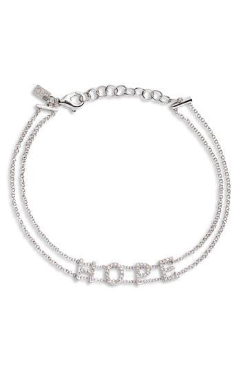 EF COLLECTION Hope Diamond Bracelet