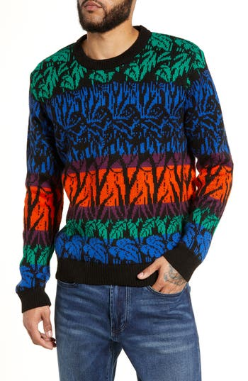 Topman Tropic Classic Fit Sweater