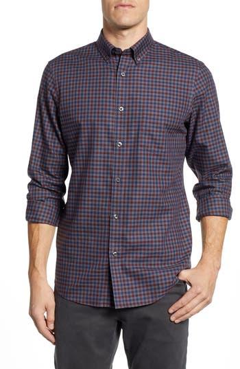 Nordstrom Men's Shop Smartcare™ Regular Fit Check Sport Shirt